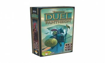 7 Wonders duel-Pantheon & Messe