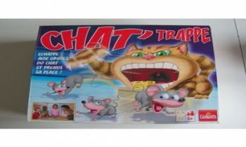 Chat' trappe